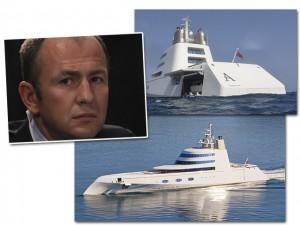 Empresário russo coloca megaiate assinado por Philippe Starck à venda