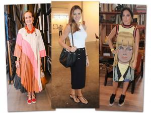 As bem-vestidas de uma semana marcada por eventos de arte em SP