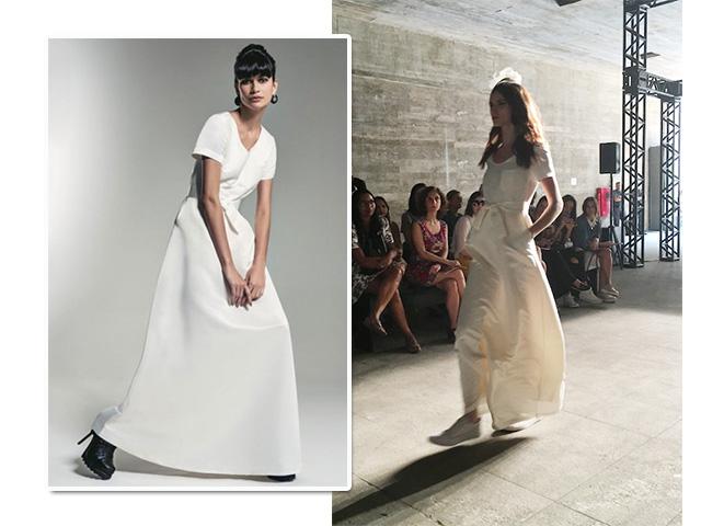 O vestido de noiva de Herchcovitch para a C&A