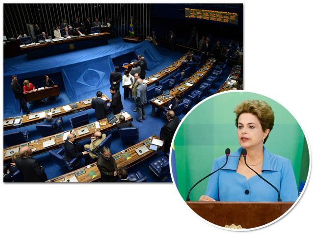 Dilma Rousseff deve articular com o Senado para barrar impeachment