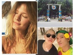 Casamento de Jason Wu com brasileiro reúne turma animada em Tulum