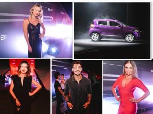 Lançamento do Mobi, caçula da Fiat, reúne turma estrelada em SP. Aos detalhes!