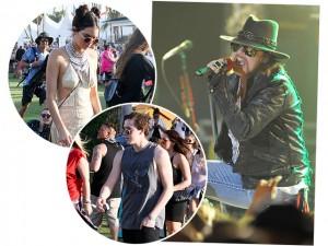 Sábado começa agitado e cheio de famosos no festival Coachella