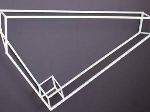 """Luiz Hermano leva sua """"Geometria Invertida"""" para a Galeria Lume"""