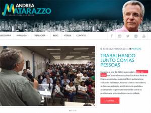 """Matarazzo ainda é """"líder do PSDB"""" em site; equipe corre e atualiza dados"""