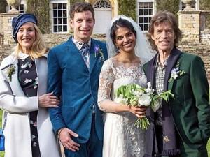 Filho de Mick Jagger e astro da série 'Vinyl' se casa na Inglaterra