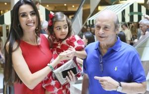 Iara Jereissati vai fazer festa pelos 5 anos da pequena Maria Clara