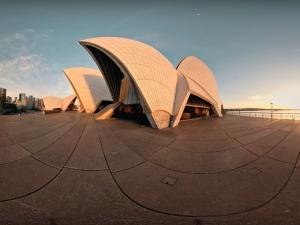 Agora é possível dar uma volta em 360ºC pelo Sydney Opera House. Vem ver!