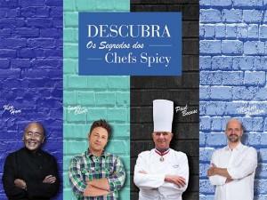 Spicy se inspira em grandes chefs para lançar nova campanha