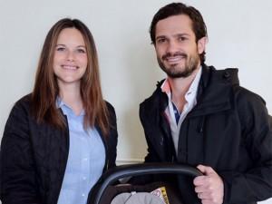 Nasce primeiro filho da princesa Sofia com o príncipe Carl Philip