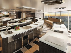 Regent Seven Seas divulga novo navio com aula de culinária no Eataly