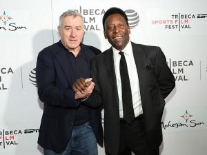 Pelé fala do Festival de Tribeca, onde filme sobre sua história é exibido