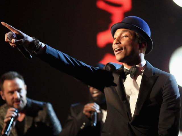 Pharrell Williams: 44 anos e muitos sucessos na lista