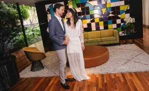 O noivado de Julia Setubal e Alexandre Winandy na Casa Jereissati