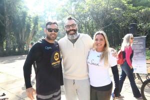 Le Manjue Organique e ARCAH em piquenique do bem para lançar assessoria esportiva
