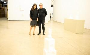 Galpão Fortes Vilaça abriu exposição com o artista Barrão