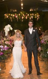 Mariana Ribeiro e Guilherme Souza se casaram na Hípica Santo Amaro