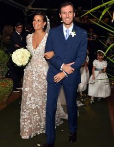 Famosos celebram casamento de sobrinha de Narcisa Tamborindeguy