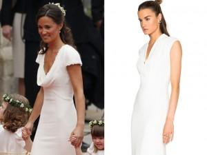 Vestido que imortalizou o bumbum de Pippa Middetlon está à venda com 40% off