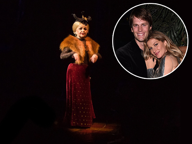 Gisele Bündchen e Tom Brady assistem a show do Circu du Solei em família