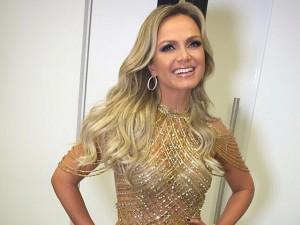 Vestido de Eliana para Troféu Imprensa foi feito em 40 dias. Uau!