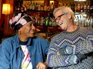 Charlô Whately recebe Lauretta da Martinica para jantar a quatro mãos
