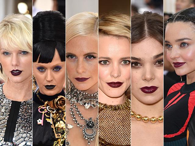 As bocas góticas do Met Gala 2016