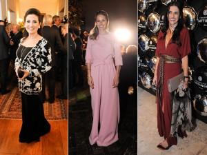 Com festas em São Paulo e no Rio, elegemos as bem vestidas da semana