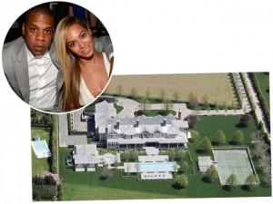 Mansão que já foi alugada por Beyoncé e Jay-Z volta ao mercado