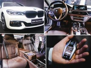 BMW apresenta novo modelo de luxo Série 7 em São Paulo