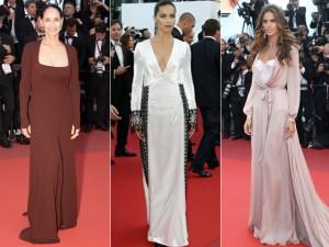Brasileiras marcam presença no red carpet do Festival de Cinema de Cannes