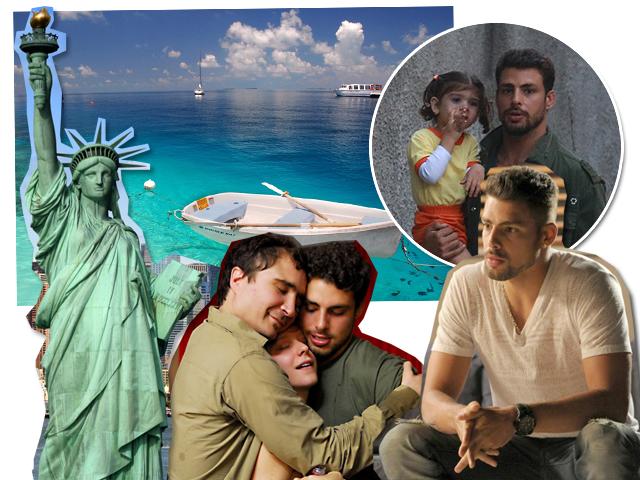 """NY, Maldivas, Sofia com o pai, cena de """"Se Nada Mais Der Certo"""" e Cauã na pele do Jorginho de """"Avenida Brasil"""""""
