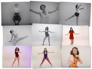 Vídeo mostra como as mulheres buscam a boa forma ao longo de 100 anos