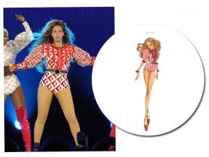 """O figurino power de Beyoncé na """"The Formation World Tour"""""""