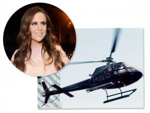 Renata Goldfarb aposta suas fichas em aplicativo de táxi aéreo