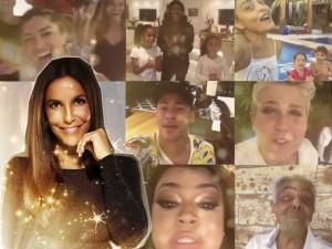 Ivete Sangalo ganha homenagem em vídeo de amigos e família
