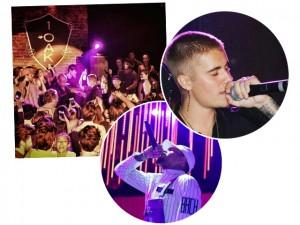 Justin Bieber, Chris Brown e 50 Cent dão palinha em festa brasileira em Mônaco