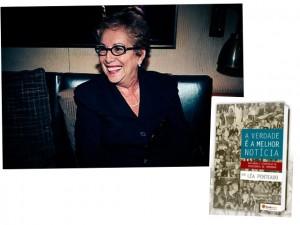Léa Penteado lança livro com histórias dos bastidores do showbiz