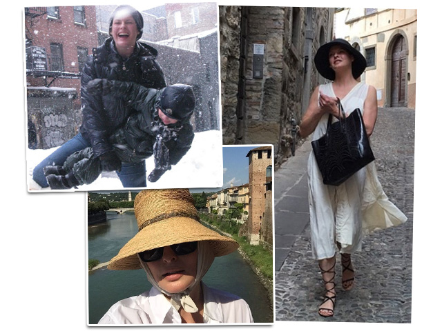Linda Evangelista completa 51 anos