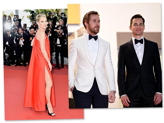 Kate Moss, Ryan Gosling e Matt Bomer: estrelas em Cannes