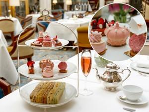 Hotel em Londres lança chá da tarde cor de rosa em homenagem real