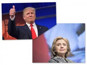 Hillary Clinton é vencedora com 44% entre os milionários americanos
