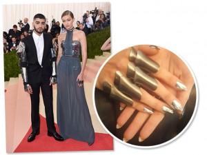 Unhas usadas por Gigi Hadid no Met Gala 2016 custam mais de R$ 7 mil