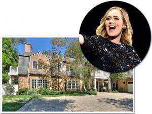 Adele arremata mansão na Califórnia por cerca de R$ 34 milhões