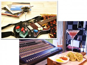 Hotel oferece estúdio profissional para hóspedes gravarem músicas