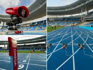 Bolt? Que nada! Glamurama estreia pista de corrida das Olimpíadas