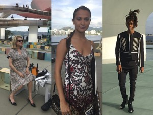 Catherine Deneuve, Alicia Vikander e mais em desfile da Louis Vuitton em Niterói