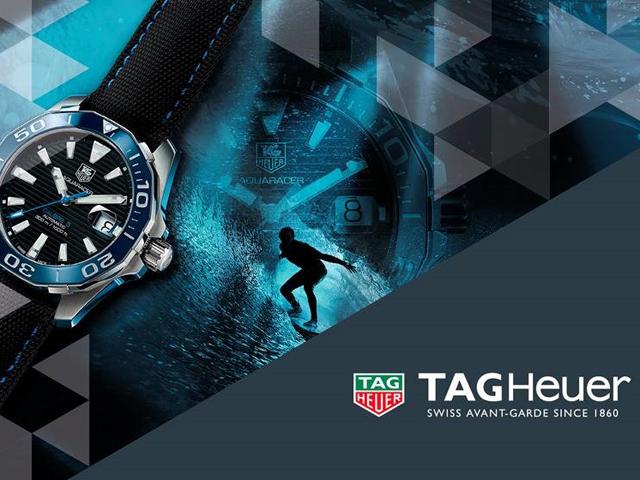 TAGHeuer apresanta sua nova coleção Aquarecer|| Créditos| Divulgação