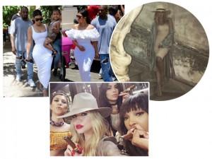 Anônimas e desplugadas: o tour das Kardashians em Cuba para gravar reality