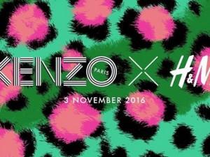 Kenzo e H&M vão lançar coleção juntas que promete animar fashionistas